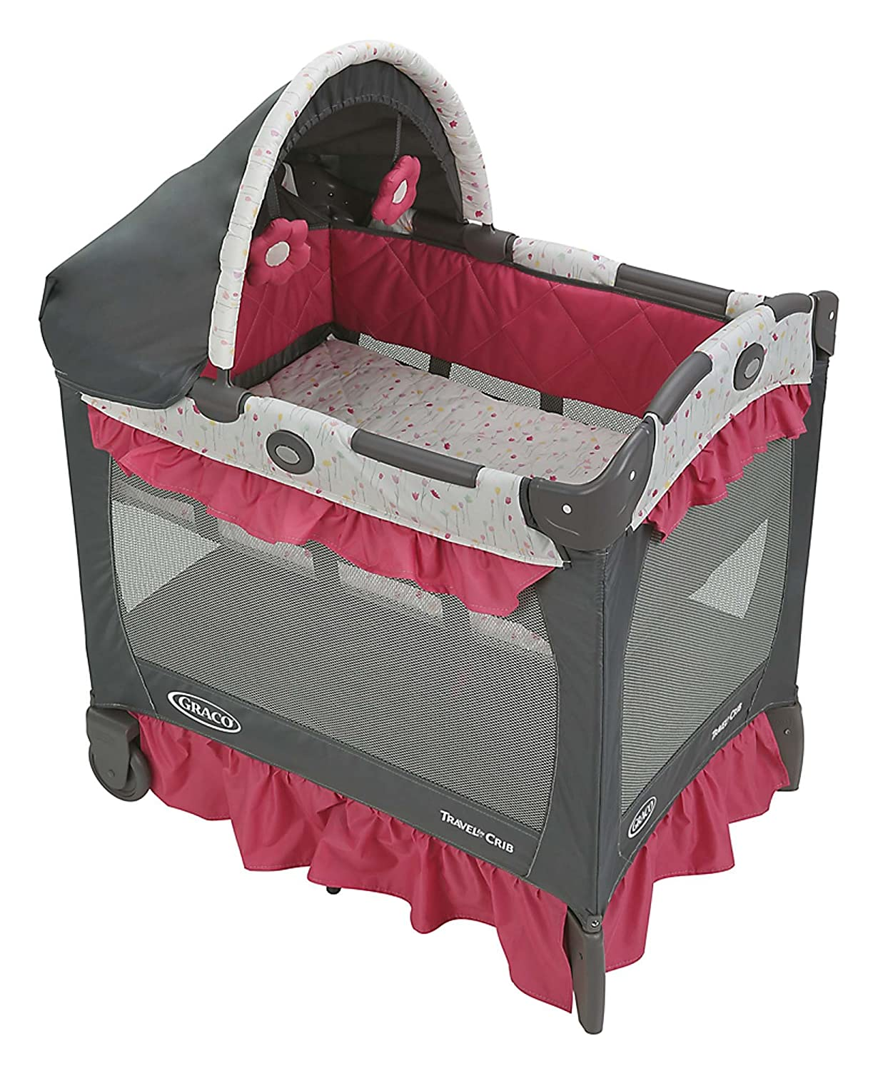 Graco Travel Lite Crib with Stages, Manor 1893800