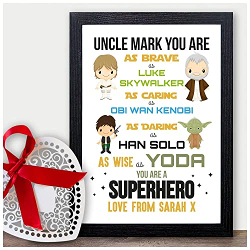 STARWARS PERSONALISED Christmas Gifts for Uncle Xmas Presents for ...