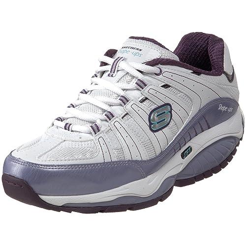Skechers Kinetix - Zapatillas tonificadoras para mujer, color blanco, talla 37: Amazon.es: Zapatos y complementos