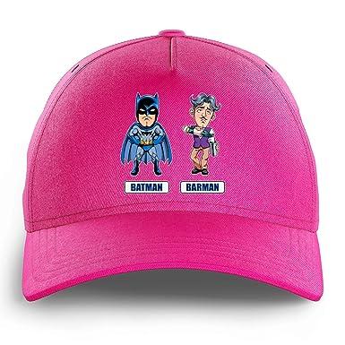 Gorra Infantil Rosa Batman Parodique Batman y Barman - Los 2 ...
