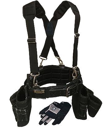 gatorback professional carpenter's tool belt deluxe package (tool ...