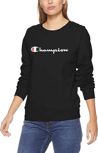 Champion Women's Script Pullover Crew