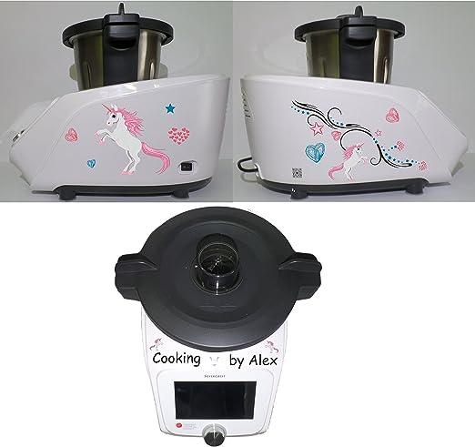 Grafix – Pegatina para Monsieur Cuisine Connect Unicornio: Amazon.es: Hogar