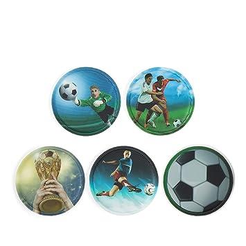 048e9ec76bcb1 Ergobag Zubehör Klettie-Set 5-TLG. Pack Cubo Fußball 2017 18  Amazon ...