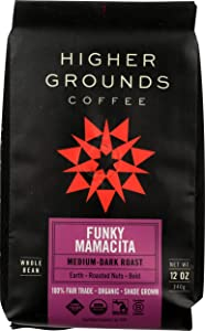 Higher Ground Roasters, Coffee Funky Mamacita Blend Organic, 12 Ounce