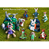 Rabbit Burrow and Friends to Knit (Cute Toys to knit Book 4)