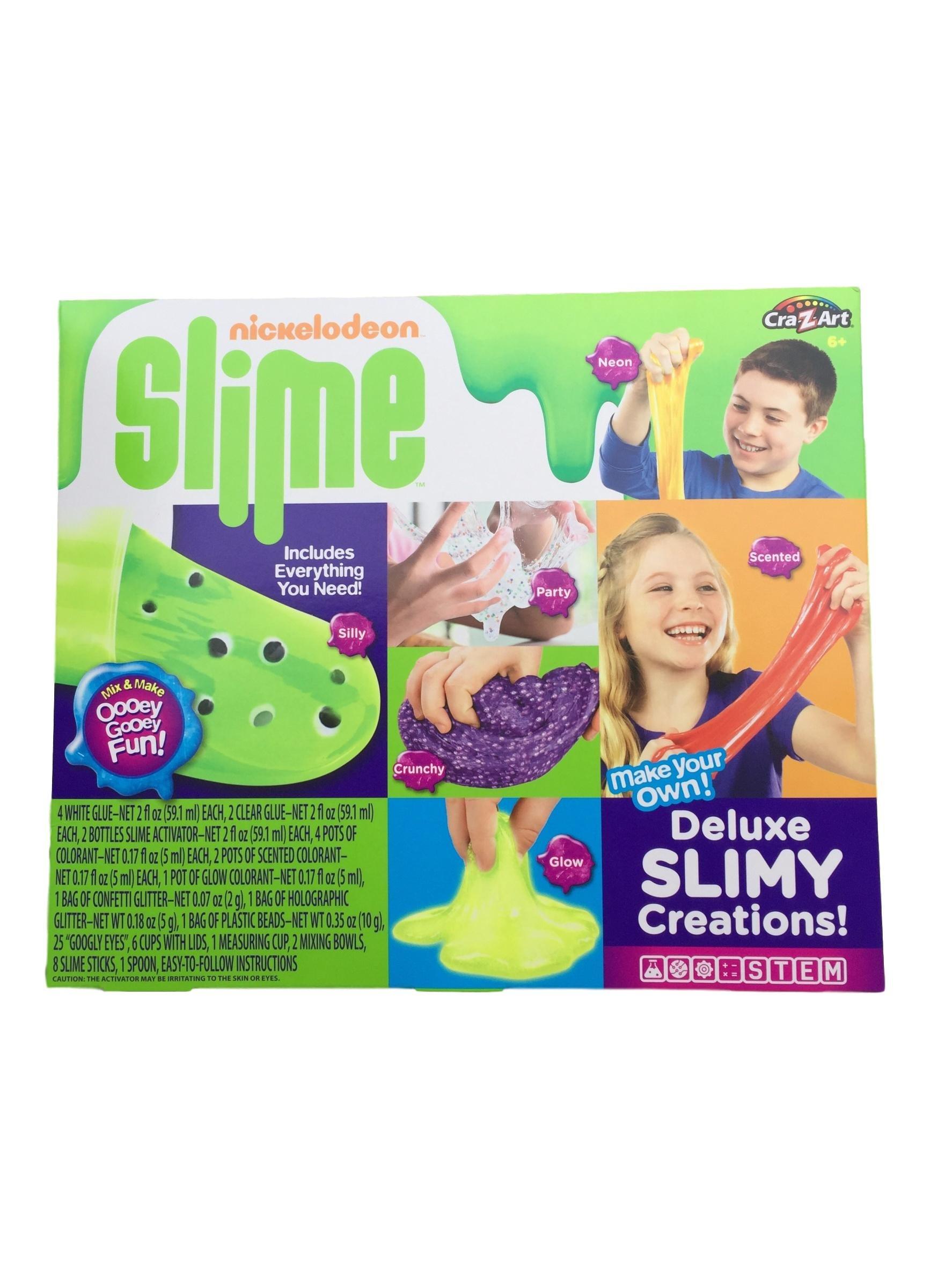 Nickelodeon Cra-Z-Slime Deluxe Slimy Creations