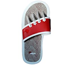 a6c24423f488 The Original Yoga Beech Sandals - Stylish Casual Beach Slip On Summer Spa Pedicure  Flip-Flops Metallic Silver - Casual Women s Shoes