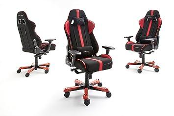 Dx racer fauteuil de bureau noir rouge k serie: amazon.fr: cuisine