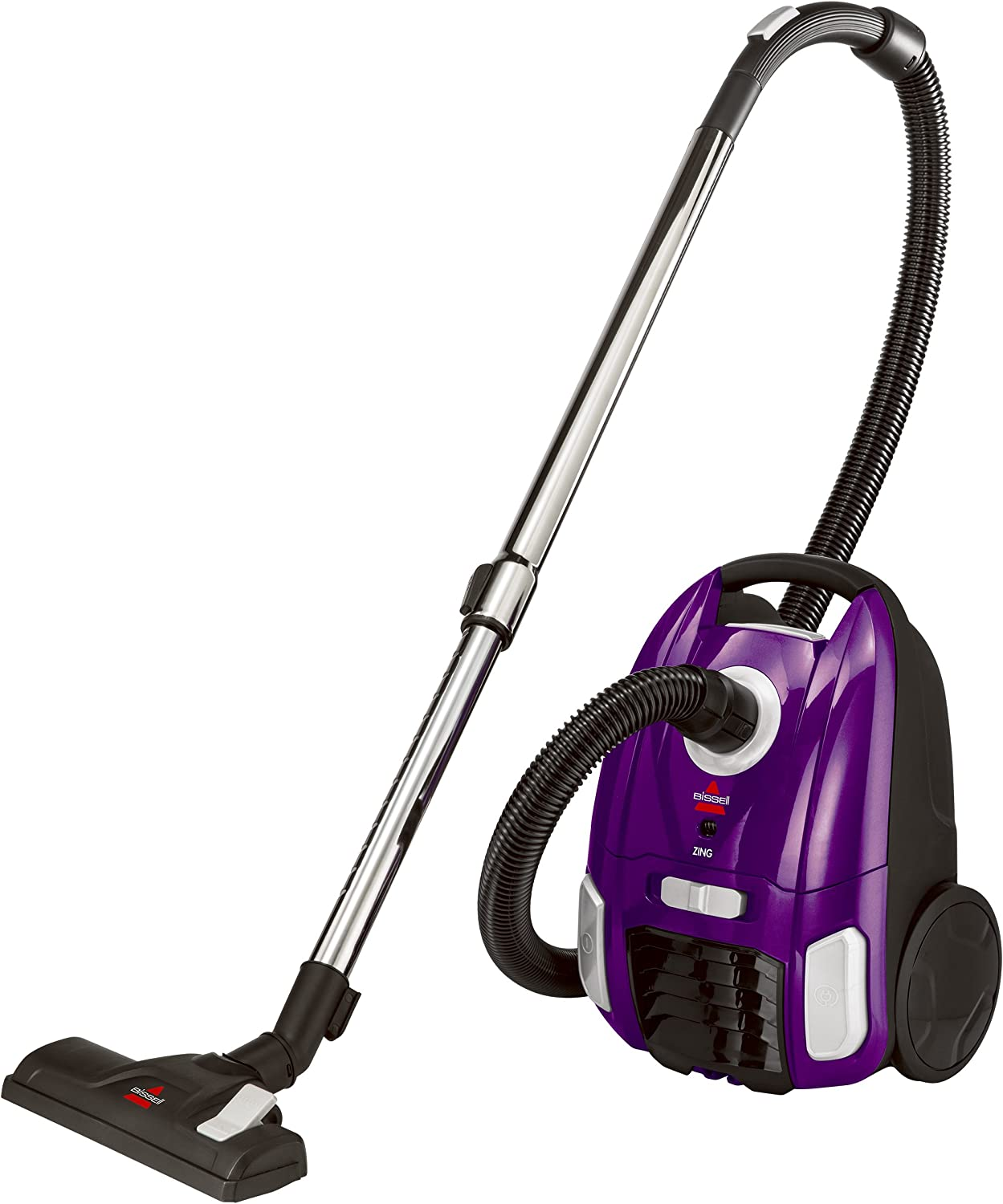 2. BISSELL Zing Lightweight, Bagged Canister Vacuum