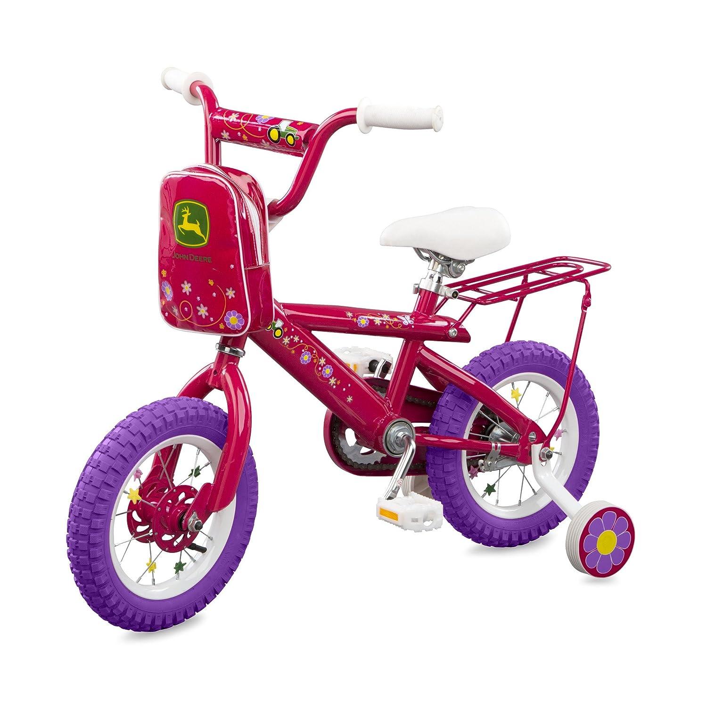 TOMY John Deere 12 Bicycle Pink