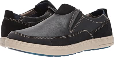 SKECHERS Men's Classic Fit Droven Black Loafer