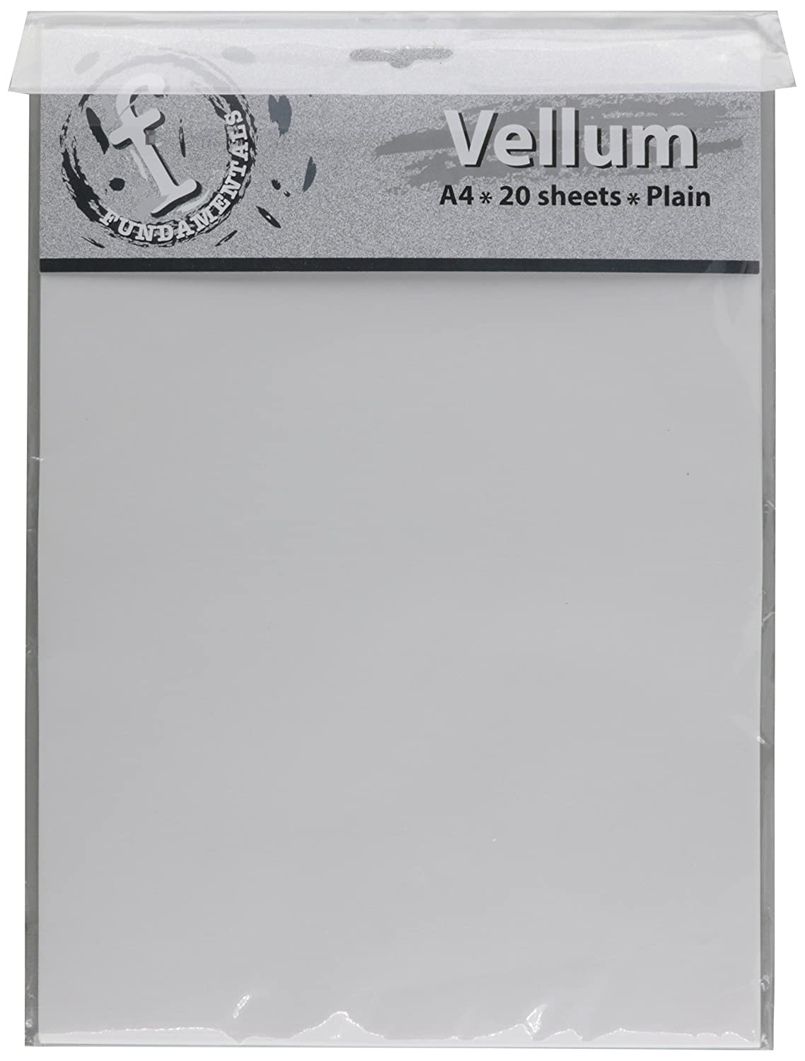 Ruby Rock-It-Fundamentals A4 Vellum Sheets, 11.7 by 8.3-Inch, Plain, 12-Pack FV63