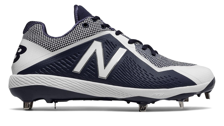 (ニューバランス) New Balance 靴シューズ メンズ野球 4040v4 Navy with White ネイビー ホワイト US 9 (27cm) B073YMQ5FM