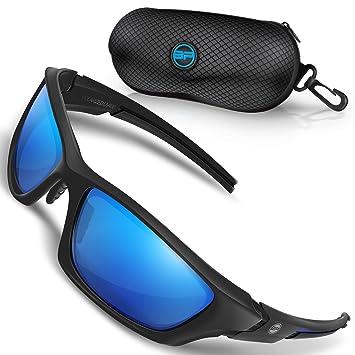 Amazon.com: BLUPOND Gafas de sol deportivas polarizadas para ...