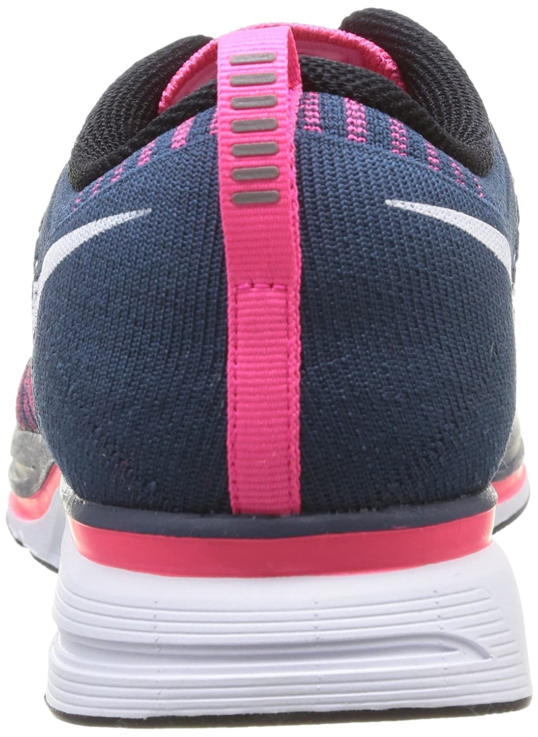 4227f8c6dab4 ... discount code for amazon nike mens flyknit trainer squadron blue white  pink flash fashion sneakers 9efc8 ...