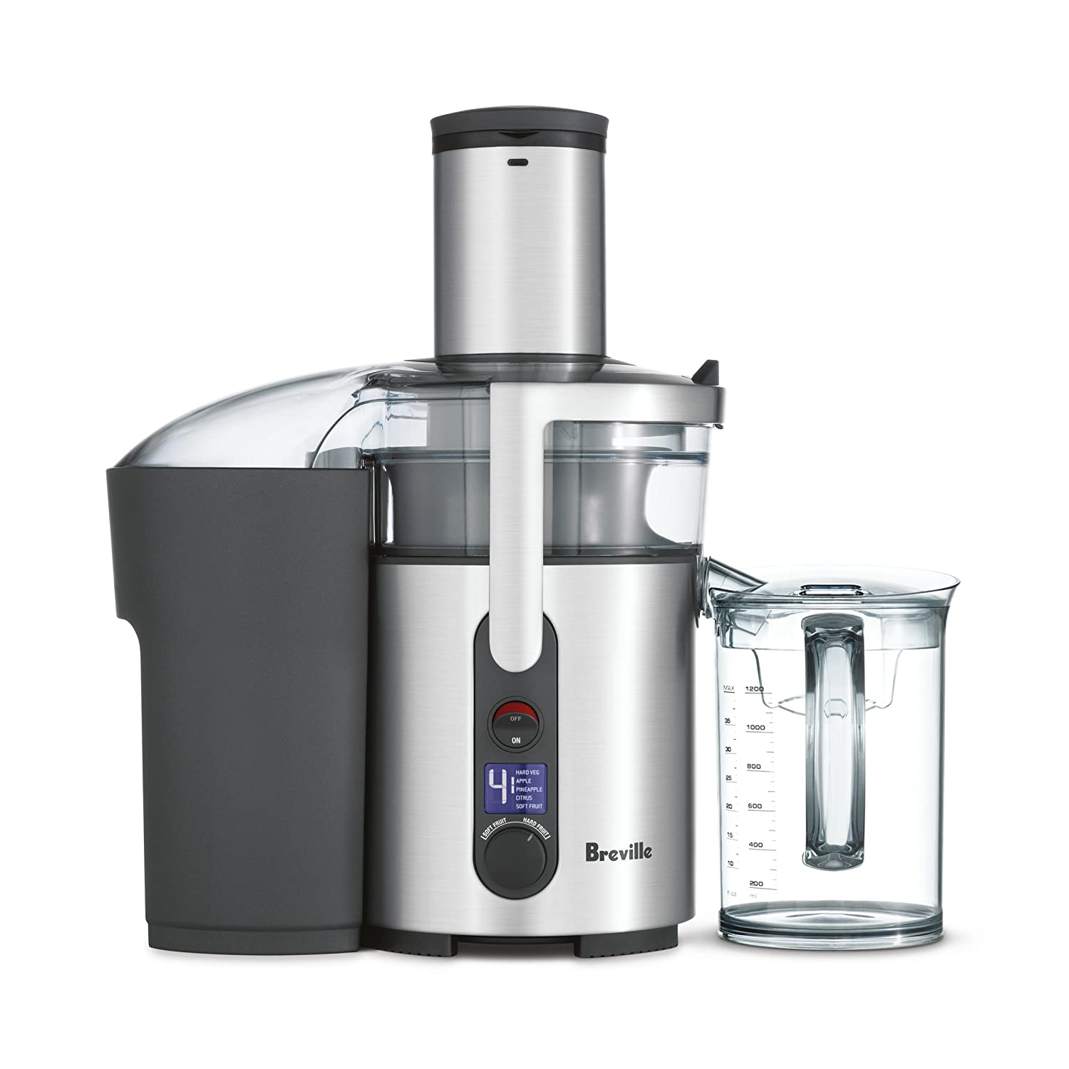 41cb3c443b4 Breville BJE520BSS Ikon Froojie Juice Fountain, Brushed Stainless Steel:  Small Kitchen Appliances: Amazon.com.au