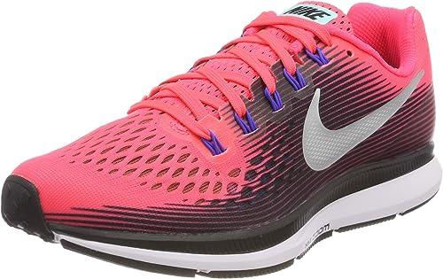 Nike Air Zoom Pegasus 34 880560-604 Tenis para correr para Mujer, Rojo,  9.5US, 26.5 MEX