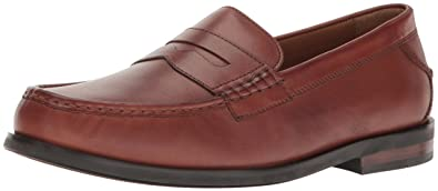 Cole Haan Men's Pinch Friday Penny Loafer, Woodbury Handstain, ...