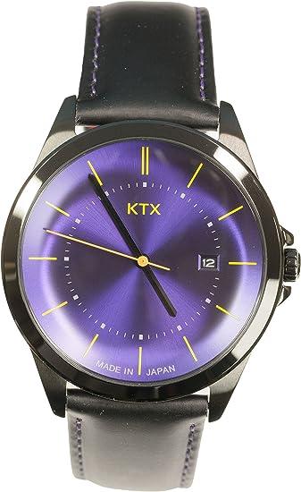 [ケーティーエックス] 腕時計 ケーティーエックス Bubble Super Slim(ラウンド) KX101-10 メンズ ブラック