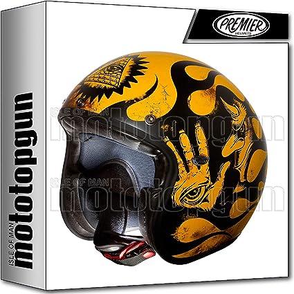 Amazon.es: Premier Casco de moto de alta calidad para moto Jet Le ...