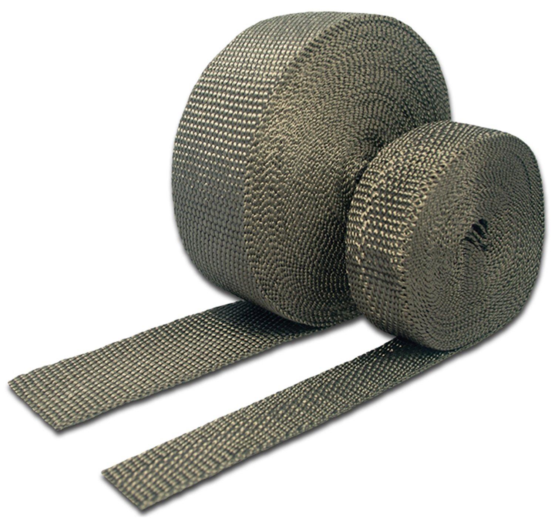 Thermo-Tec 11042 2' Wide x 50' Long Carbon Fiber/Basalt Header/Exhaust Wrap (Roll)