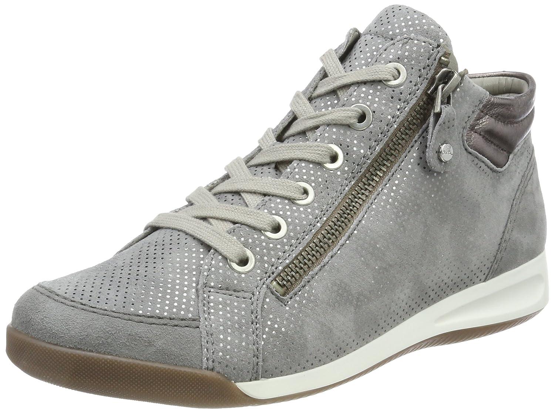 ARA Damen Rom Rom Damen Hohe Sneaker Grau (Rauch, Street) 65fd28 ... 830e32b875