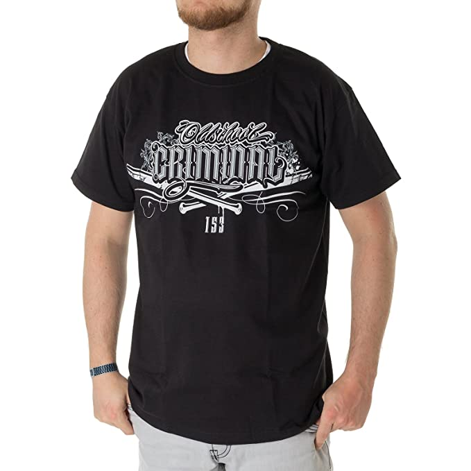 T Shirt Oldschool Criminal Zahne Shirt Hooligans Tattoo Fussball Ultra Gangster