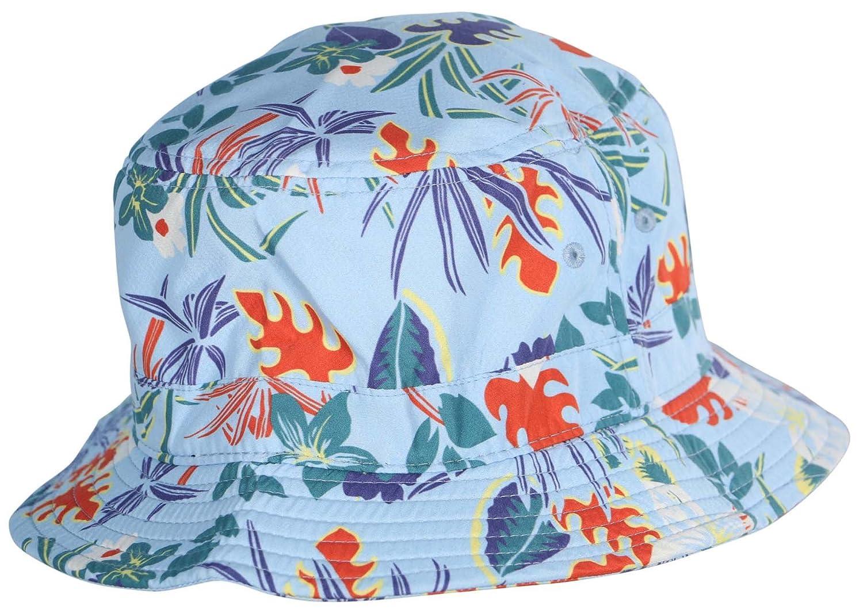 f06e40a7d83 Vans Undertone Hawaiian Print Bucket Hat (Small Medium) at Amazon Men s  Clothing store