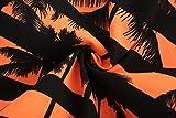 ALiberSoul Men's Coconut Tree Print Tropical Design