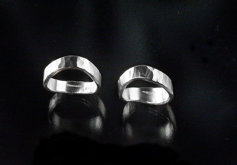Silberring aus 999 ./.. Feinsilber