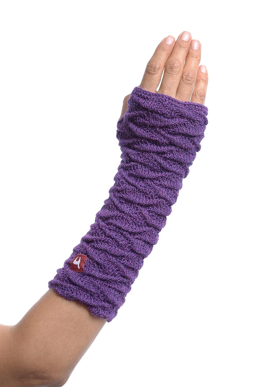 APU KUNTUR Alpaka-Handstulpen BIESEN Baby Alpaka Arm-Stulpe Gelenkwärmer Pulswärmer Damen