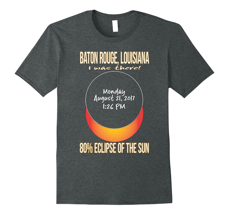 2017 Baton Rouge, Louisiana Eclipse Souvenir T Shirt-4LVS
