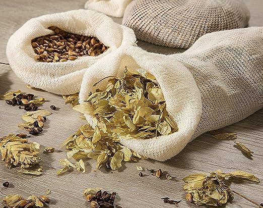 Hops and Grain Bolsa de muselina para infusión - Molinillos ...