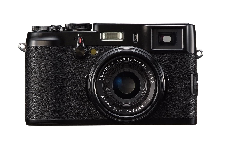 FUJIFILM デジタルカメラ FinePix X100 ブラック 1230万画素 APS-CサイズCMOS F2レンズ ハイブリッドビューファインダー F FX-X100B   B006TQV4GI