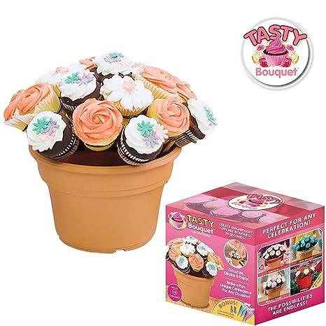 Dombs Garderobekast Wit.Amazon Com Tasty Bouquet Create Beautiful Cupcake Bouquets In