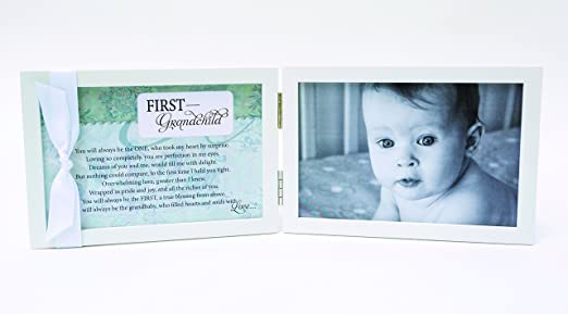 Amazon.com : First Grandchild Gift for New Grandparents - Poetry ...