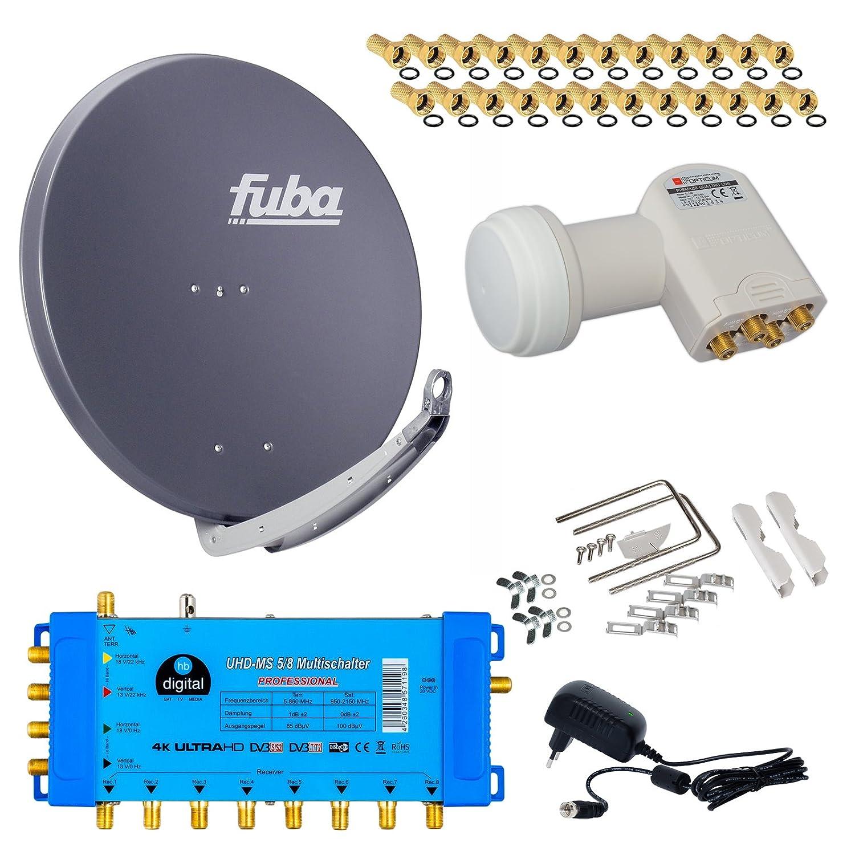 FUBA DAA850A Komplett Paket