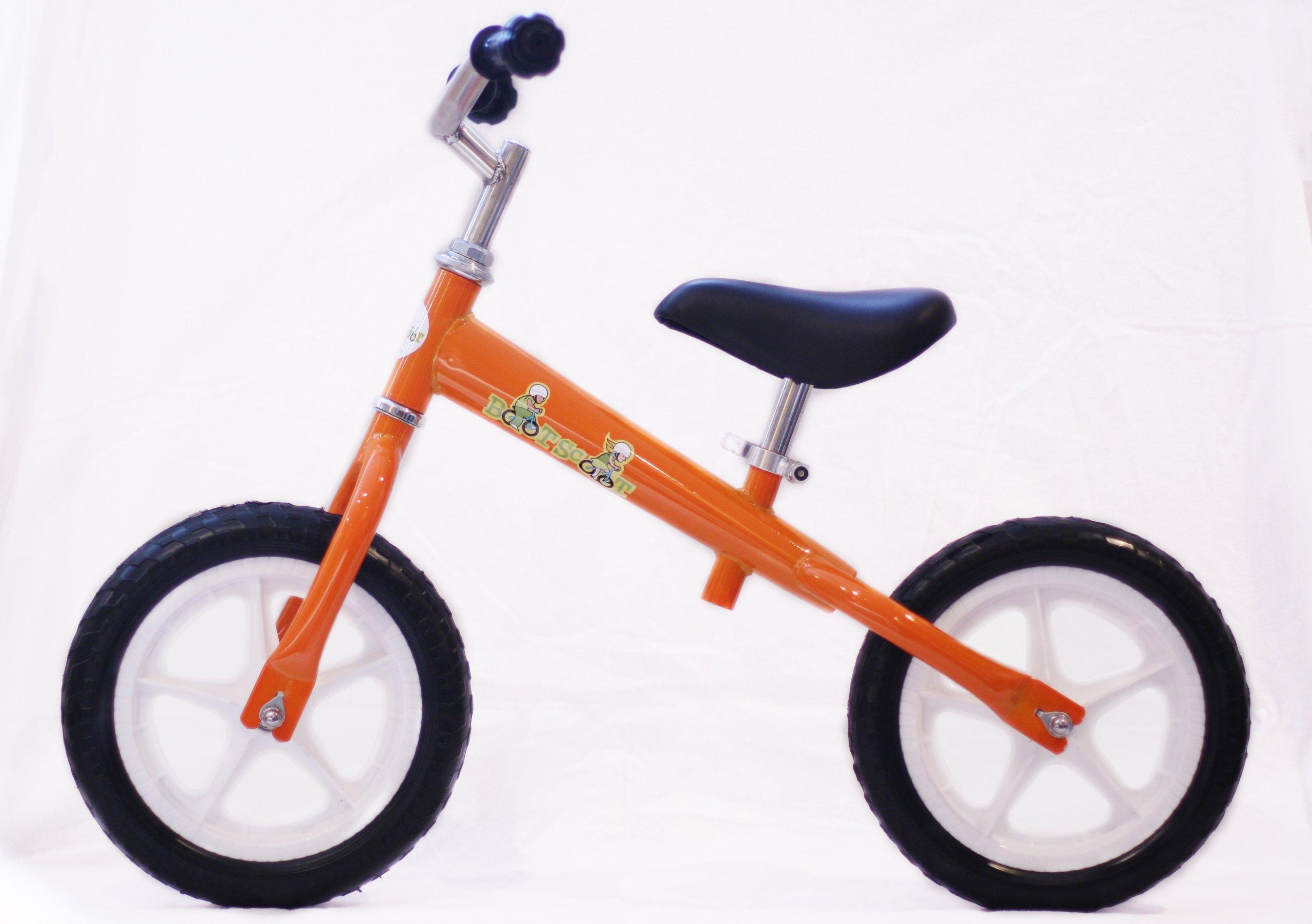 Boot Scoot Bikes Children's Zoomer Balance Bike, Orangesicle