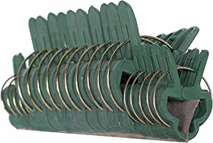 Ram-Pro 20Pc Gentle Plant & Flower Clips for Supporting Stems