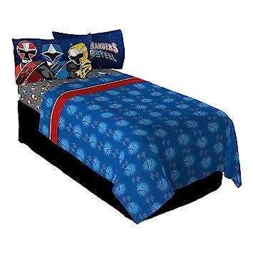 Amazon.com: Saban Power Rangers Ninja Steel Twin Sheet Set: Home U0026 Kitchen