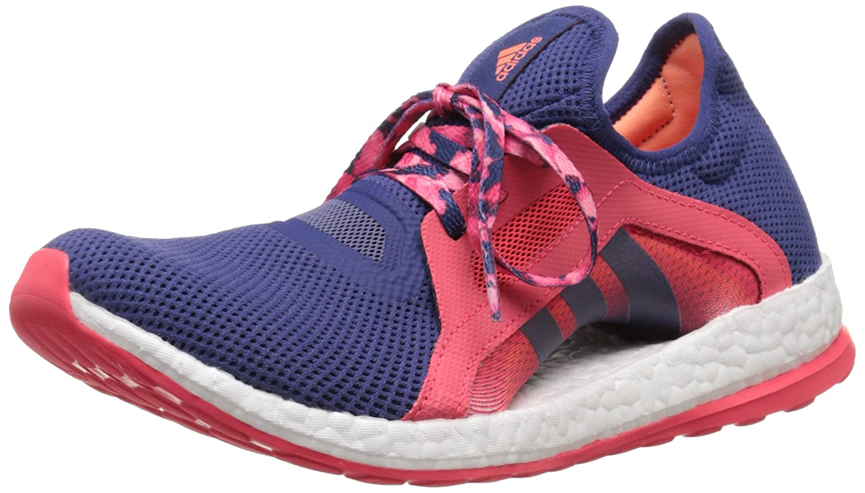 adidas Performance Women's Pureboost X Running Shoe B010UUJ5S2 7.5 B(M) US Raw Purple/Raw Purple/Shock Red