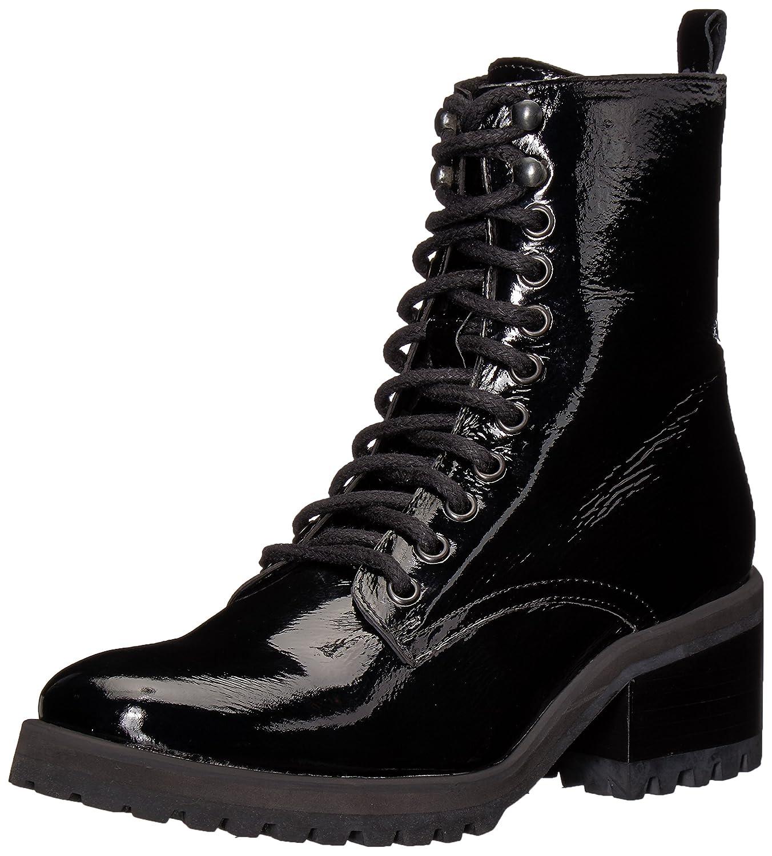 Steve Madden Women's Geneva Combat Boot B075Y8QZJL 7.5 B(M) US|Black Patent