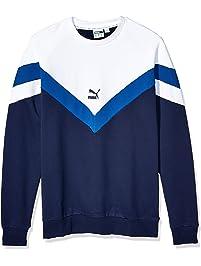 PUMA Mens Iconic MCS Crew Sweatshirt French Terry Sweatshirt