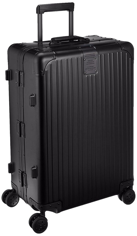 [カーゴ] スーツケース アルミキャリー フレーム | 75L | 6.5kg | 双輪キャスター | TSAロータリーロック |保証付 75L 70cm 6.5kg AMW126 B01AXO15PGスモーキーブラック