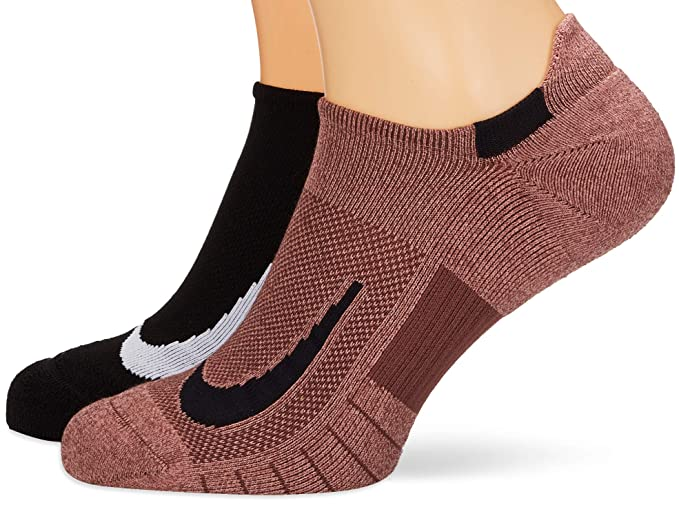 Nike 2 Pares Calcetines para Zapatillas Deportivas: Amazon ...