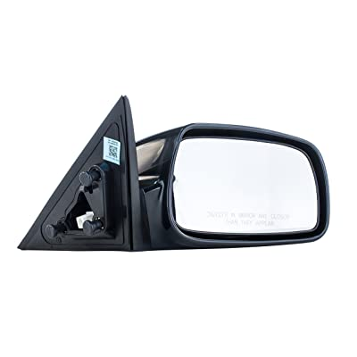 Right Passenger Side Mirror for Toyota Camry (USA Built) (2007 2008 2009 2010) Unpainted Non-Heated Non-Folding Door Outside Rear View Replacement Mirror - TO1321215: Automotive