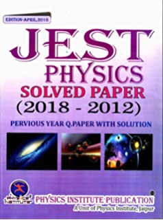 Amazon buy study material for tifr gs physics pack of 4 books jest physics solved paper fandeluxe Image collections