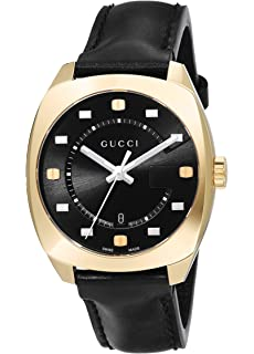 7415402a549 Gucci Womens Moon Phase Quartz Watch with Leather Strap YA1264046 ...