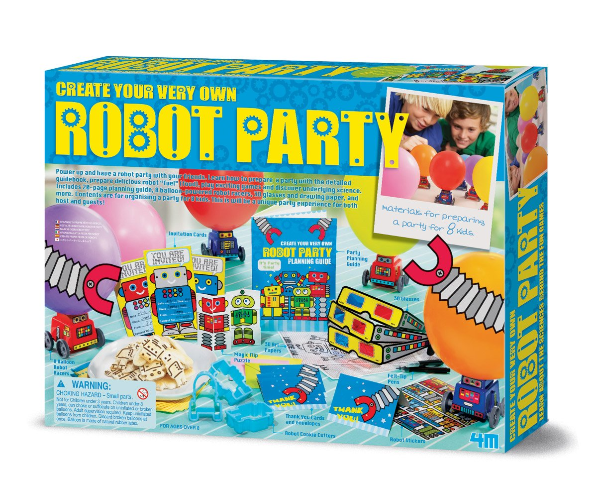 4M Create Your Own Robot Party Kit by 4M